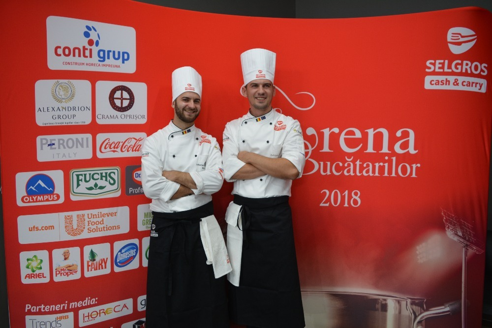 Chef Adrian Curalet la Arena Bucatarilor 2018
